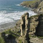  Slate mining coast south of Tintagel