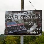 La Sauzette sign