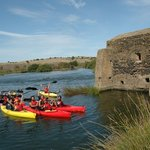 Guadiana River canoe trip, for groups of 6