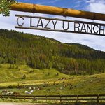 C Lazy U Entrance and its 200 horses