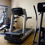 Fitness room at the Inn on Broadway