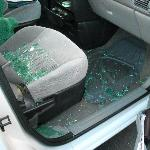 Another car broken into and even more was taken.