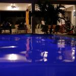  Swell pool at night