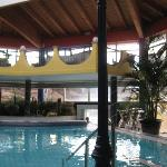 Therme: Pool im Bereich Mexiko