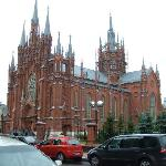 Brick gothic architecture - not seen often in a city like Moscow.