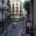 From Hotel looking back towards Las Ramblas