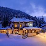  Aussenbild Winter Sheraton Davos Hotel Waldhuus