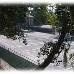 3 of 10 Har-Tru Tennis Courts, free to guests