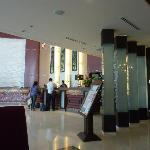  lobby view from the restaurant
