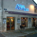  The restaurant is located about two blocks behind the rear of the Chateau Royal de Blois.