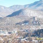 Gatlinburg from Smoky Mountain National Park