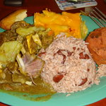 Great curry goat - half eaten, sorry. :)