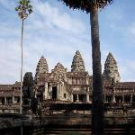The amazing Angkor Wat.