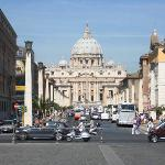 Via della Conciliazione was built when the Vatican state was established 1929