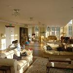 living roon at the Orangery
