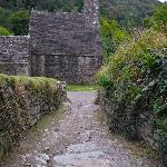 wicklow ruins, short dive away