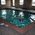 Indoor pool at Super 8
