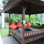 Our private gazebo