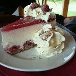 cherry cheesecake to die for