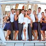 Wedding on Nautica Lodge Boat