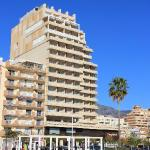 Confortel Fuengirola as seen from the beach.