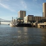 View of New Orleans from Algiers Ferry