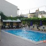 Swimming Pool and Bar area,