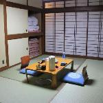 authentic Japanese style inn