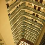 The view of the Atrium from the 17th floor!