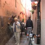 Leading to Riad Linda