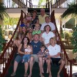Part Of our Family On Palm Springs Stair case