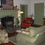 Living Room area of Asa Cline House