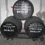  Old sherry barrels