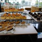  Lovely pastries, esp the brownies