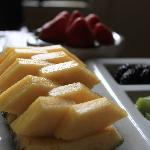 Fruit Plate in the Morning