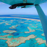 Vew of Hardy Lagoon in the Great Barrier Reef