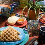 Breakfast is Always Special At La Posada de Taos