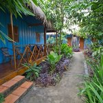 Great little bungalows around a tropical garden