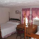 Room # 2 in the B&B has two beds