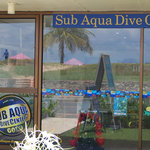 The dive centre on Karon Beach Road