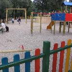 Large children playground