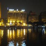  view of hotel from across Nile