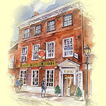 The Gordon House Hotel in Historic Rochester upon Medway