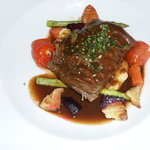 Short ribs: the only decent food we had