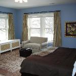 Fabulous king size bed and huge room