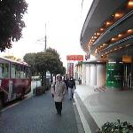 shuttle bus to Daiba area