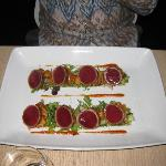 Seared Yellowfin Tuna