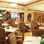 Enjoy dinner and cocktails in our American Grill Restaurant