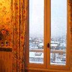  View from the room - day time with snow