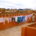 Laundry from the roof top